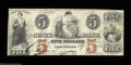 Obsoletes By State:Maryland, Port Deposit, MD- The Cecil Bank $5 Sept. 1, 1862 G6b ...