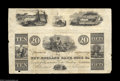 Obsoletes By State:Massachusetts, Boston, MA- New England Bank Note Co. Feb. 11, 1833