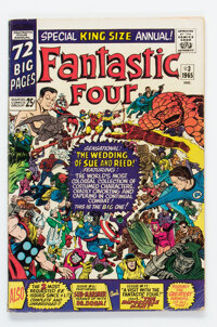 Fantastic Four Annual #3 Signed Copy (Marvel, 1965) Condition: VG