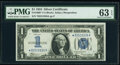Small Size:Silver Certificates, Fr. 1606* $1 1934 Silver Certificate Star. PMG Choice Unci...