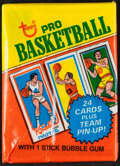 Basketball Cards:Unopened Packs/Display Boxes, 1980 Topps Basketball Unopened Wax Pack....