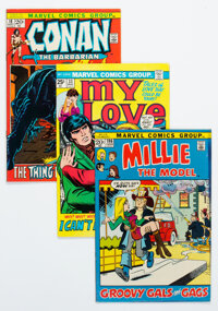 Marvel Bronze Age Picture Frame Covers Group of 19 (Marvel, 1970s) Condition: Average FN+.... (Total: 19 Comic Books)