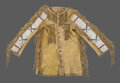 American Indian Art:Beadwork and Quillwork, A Blackfoot Beaded Hide Scout Shirt ...