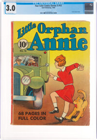 Four Color #12 Little Orphan Annie (Dell, 1940) CGC GD/VG 3.0 Off-white pages