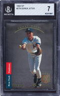 Baseball Cards:Singles (1970-Now), 1993 SP Derek Jeter #279 BGS NM 7. Offered is a 19...