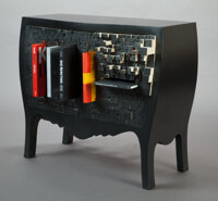 Chung-Tang Ho (Taiwanese, b. 1972) Push and StoreCcabinet, 2006, Droog Design Wood, paint 86-1/2 x 101 x 47 inches (2