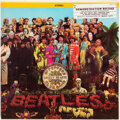 Music Memorabilia:Recordings, The Beatles Sgt. Pepper's Lonely Hearts Club Band Stereo Vinyl LP With Promo Sticker From Music City (Capitol, 265...
