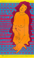 Music Memorabilia:Posters, BG-60 Howlin' Wolf, Big Brother & Holding Company 1967 Fillmore Auditorium Concert Poster....