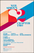 """Movie Posters:Romance, Chapter Two (Ahmanson Theatre, 1977). Fine+. Autographed Theater Window Card (14"""" X 22""""). Romance.. ..."""