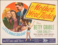 """Mother Wore Tights (20th Century Fox, 1947). Folded, Very Fine-. Half Sheet (22"""" X 28""""). Musical"""