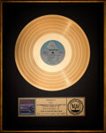 Music Memorabilia:Awards, The Kinks Give the People What They Want RIAA Gold Sales Award....