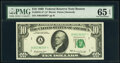 Small Size:Federal Reserve Notes, Fr. 2018-B* $10 1969 Federal Reserve Note. PMG Gem Uncircu...