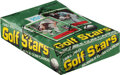 Golf Cards:General, 1982 Donruss Golf Stars Wax Box With 36 Unopened Packs.