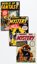 Silver Age (1956-1969):Science Fiction, Silver Age Sci-Fi Group of 4 (Various Publishers, 1960s) Condition: Average GD+.... (Total: 4 Comic Books)