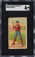Baseball Cards:Singles (Pre-1930), 1887 N284 Gold Coin Charles Comiskey SGC Authentic....