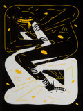 Prints & Multiples, Cleon Peterson (b. 1973). Power, 2020. Screenprint in colors on Arches Rag paper. 24 x 18 inches (61 x 45.7 cm) (sheet)...