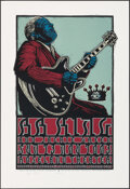Movie Posters:Rock and Roll, B.B. King and Jackie Green (GH Design, 2003). Rolled, Near Mint. Signed and Hand-Numbered Limited Edition Silk Screen Concer...