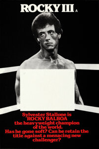 """Rocky III (United Artists, 1982). Rolled, Very Fine+. Marler Haley British Double Crown Set of 4 (20"""" X 30"""")..."""
