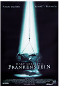 Movie/TV Memorabilia:Autographs and Signed Items, Mary Shelley's Frankenstein Bus Shel...