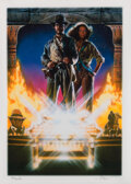 Movie/TV Memorabilia:Autographs and Signed Items, Drew Struzan Signed Raiders of the Lost Ark