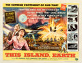 """Movie Posters:Science Fiction, This Island Earth (Universal International, 1955). Fine+ on Paper. Half Sheet (22"""" X 28"""") Style A, Reynold Brown Artwork.. ..."""