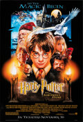 """Movie Posters:Fantasy, Harry Potter and the Sorcerer's Stone (Warner Bros., 2001). Rolled, Very Fine+. One Sheet (27"""" X 40"""") DS Advance, Drew Struz..."""