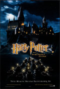 """Movie Posters:Fantasy, Harry Potter and the Sorcerer's Stone (Warner Bros., 2001). Very Fine. One Sheet (27"""" X 40""""). DS Advance, Page Wood A..."""