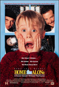 """Movie Posters:Comedy, Home Alone (20th Century Fox, 1990). Rolled, Very Fine+. One Sheets (2) (27"""" X 40"""") DS Regular & SS Advance, 2 Styles. Comed... (Total: 2 Items)"""