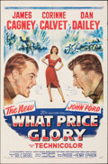 """Movie Posters:Drama, What Price Glory & Other Lot (20th Century Fox, 1952). Folded, Fine/Very Fine. One Sheets (2) (27"""" X 41""""). Drama.. ... (Total: 2 Items)"""