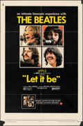 """Movie Posters:Rock and Roll, Let It Be (United Artists, 1970). Folded, Fine. One Sheet (27"""" X 41""""). Rock and Roll.. ..."""