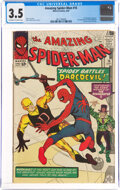 Silver Age (1956-1969):Superhero, The Amazing Spider-Man #16 (Marvel, 1964) CGC VG- 3.5 Off-white to white pages....