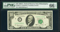 Small Size:Federal Reserve Notes, Fr. 2017-C $10 1963A Federal Reserve Note. PMG Gem Uncirculated 66 EPQ;. Fr. 2017-C* $10 1963A Federal Reserve Star Note. ... (Total: 2 notes)