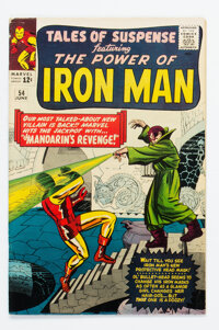 Tales of Suspense #54 (Marvel, 1964) Condition: FN+