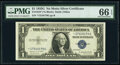 Small Size:Silver Certificates, Fr. 1616* $1 1935G No Motto Silver Certificate Star. PMG G...