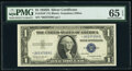 Small Size:Silver Certificates, Fr. 1618* $1 1935H Silver Certificate Star. PMG Gem Uncirc...