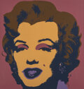 Prints & Multiples, After Andy Warhol. Marilyn Monroe. Screenprint in colors on museum board. 36 x 36 inches (91.4 x 91.4 cm) (sheet). Print...