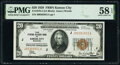 Small Size:Federal Reserve Bank Notes, Fr. 1870-J $20 1929 Federal Reserve Bank Note. PMG Choice About Unc 58 EPQ.. ...