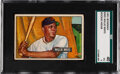 Baseball Cards:Singles (1950-1959), 1951 Bowman Willie Mays #305 SGC 40 VG 3. Offered ...