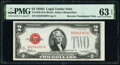 Small Size:Legal Tender Notes, Reverse Changeover Pair Fr. 1506/1505 $2 1928E/1928D Legal Tender Notes. PMG Choice Uncirculated 64 EPQ; Choice Uncirculated 6... (Total: 2 notes)