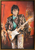 """Music Memorabilia:Autographs and Signed Items, Ronnie Wood Signed """"Wa Wa Wood"""" Limited Edition Print on C..."""