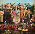Music Memorabilia:Autographs and Signed Items, Paul McCartney Signed and Inscribed Sgt. Pepper's Lonely Hearts Club Band Mono Vinyl LP Jacket (EMI/Parlophone, PM...