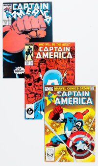 Captain America #275, 333, and 354 The Falcon and the Winter Soldier-Related Group (Marvel, 1982-89).... (Total: 3 Comic...