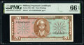 Military Payment Certificates:Series 681, Series 681 $20 First Printing PMG Gem Uncirculated 66 EPQ.. ...