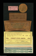 Miscellaneous:Depression Scrip, One Leather Issuer and Four Paper Issuers.