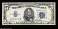Error Notes:Inverted Reverses, Fr. 1651 $5 1934A Silver Certificate. Choice Crisp ...