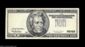 Error Notes:Third Printing on Reverse, Fr. 2083-B $20 1996 Federal Reserve Note. Choice About ...