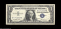 Error Notes:Mismatched Prefix Letters, Fr. 1619 $1 1957 Silver Certificate. Extremely Fine. A ...
