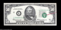 Error Notes:Major Errors, Fr. 2114-L $50 1969 Federal Reserve Notes. Gem Crisp ...