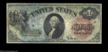Error Notes:Major Errors, Fr. 18 $1 1869 Legal Tender Mismatched Serial Numbers Very ...