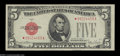 Small Size:Legal Tender Notes, Fr. 1531* $5 1928F Legal Tender. Wide I. Extremely Fine.